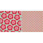 Teresa Collins - Spring Fling Collection - 12 x 12 Double Sided Paper - Big Flowers