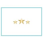 Teresa Collins Designs - Studio Gold Collection - Card Set - Stars