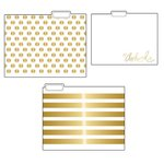 Teresa Collins Designs - Studio Gold Collection - File Folders