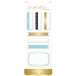 Teresa Collins Designs - Studio Gold Collection - Journaling Labels