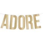 Teresa Collins Designs - Studio Gold Collection - Banner - Adore