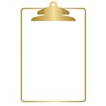 Teresa Collins Designs - Studio Gold Collection - Clipboard