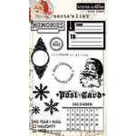 Teresa Collins - Santas List Collection - Clear Acrylic Stamps