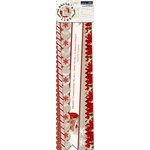 Teresa Collins - Santas List Collection - Border Strips with Glitter Accents