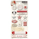 Teresa Collins Designs - Santas List Collection - Chipboard Buttons