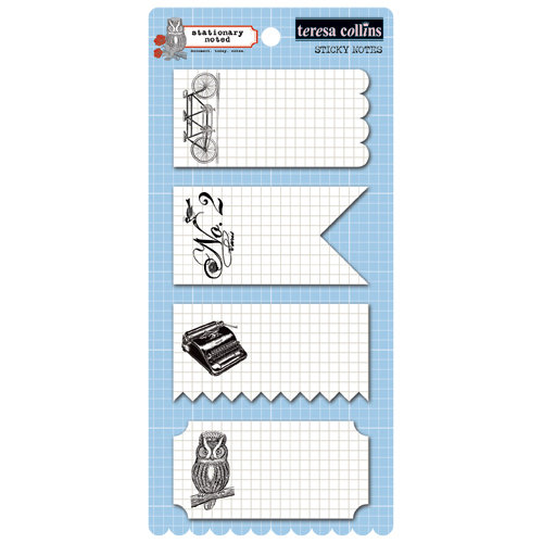 Teresa Collins Designs - Stationery Noted Collection - Sticky Notes