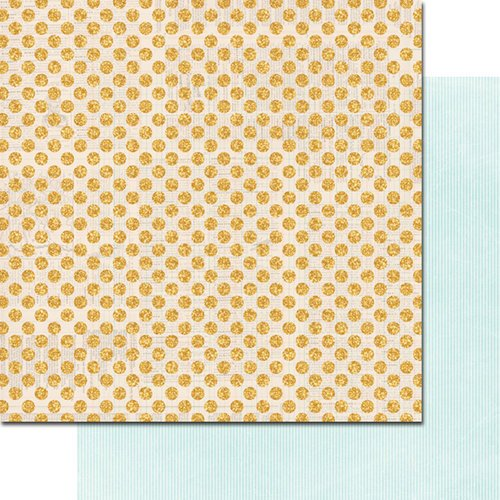Teresa Collins - Summer Stories Collection - 12 x 12 Double Sided Paper - Dots