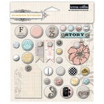 Teresa Collins - Summer Stories Collection - Decorative Brads