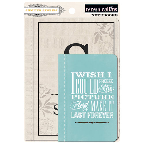 Teresa Collins Designs - Summer Stories Collection - Notebooks
