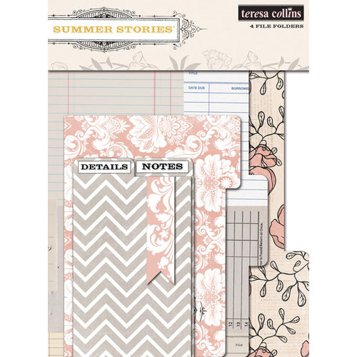 Teresa Collins - Summer Stories Collection - File Folders