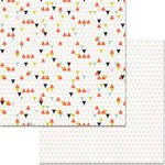 Teresa Collins Designs - Something Wonderful Collection - 12 x 12 Double Sided Paper - Geometric