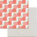 Teresa Collins - Something Wonderful Collection - 12 x 12 Double Sided Paper - Floral