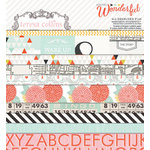 Teresa Collins Designs - Something Wonderful Collection - 6 x 6 Paper Pad
