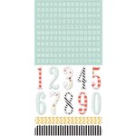 Teresa Collins - Something Wonderful Collection - Die Cut Chipboard Stickers