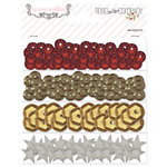 Teresa Collins Designs - Tinsel and Company Collection - Christmas - Sequins