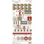 Teresa Collins Designs - Tinsel and Company Collection - Christmas - Cardstock Stickers - Decorative