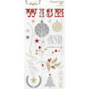 Teresa Collins Designs - Tinsel and Company Collection - Christmas - Die Cut Chipboard Stickers - Elements