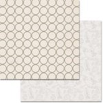 Teresa Collins - Urban Market Collection - 12 x 12 Double Sided Paper with Glitter Accents - Circles