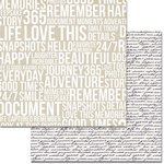 Teresa Collins Designs - Urban Market Collection - 12 x 12 Double Sided Paper - Subway