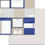 Teresa Collins Designs - Urban Market Collection - 12 x 12 Double Sided Paper - Cards