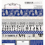 Teresa Collins Designs - Urban Market Collection - 6 x 6 Paper Pad