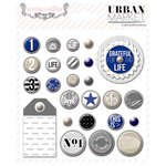 Teresa Collins Designs - Urban Market Collection - Decorative Brads