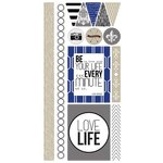 Teresa Collins Designs - Urban Market Collection - Die Cut Chipboard Stickers