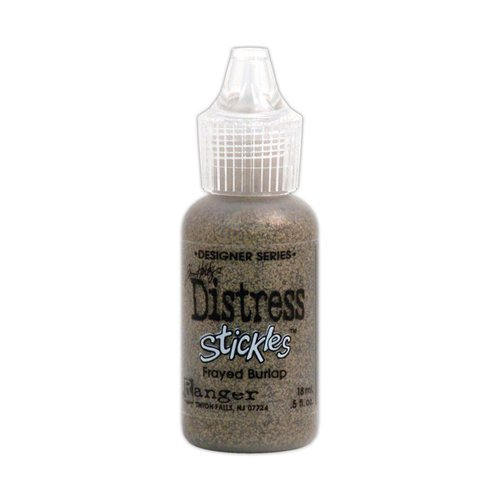 Ranger Ink - Tim Holtz - Distress Stickles Glitter Glue - Frayed Burlap