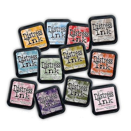 Ranger Ink - Tim Holtz - 2010 Collection Distress Ink Pads Kit