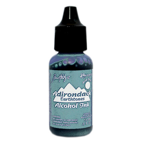 Ranger Ink - Tim Holtz - Adirondack Alcohol Ink - Cloudy Blue