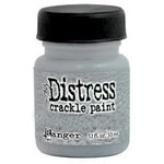 Ranger Ink - Tim Holtz - Distress Crackle Paint - Metallic Brushed Pewter