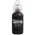 Ranger Ink - Tim Holtz - Distress Stickles Glitter Glue - Black Soot
