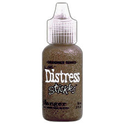 Ranger Ink - Tim Holtz - Distress Stickles Glitter Glue - Brushed Corduroy