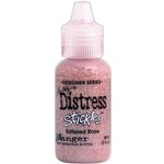 Ranger Ink - Tim Holtz - Distress Stickles Glitter Glue - Tattered Rose