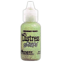 Ranger Ink - Tim Holtz - Distress Stickles Glitter Glue - Bundled Sage