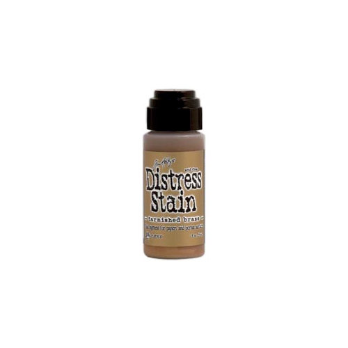 Ranger Ink - Tim Holtz - Distress Stain - Metallic - Tarnished Brass