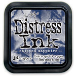 Ranger Ink - Tim Holtz - Distress Ink Pads - Chipped Sapphire