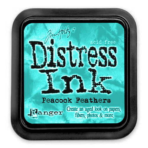 Ranger Ink - Tim Holtz - Distress Ink Pads - Peacock Feathers