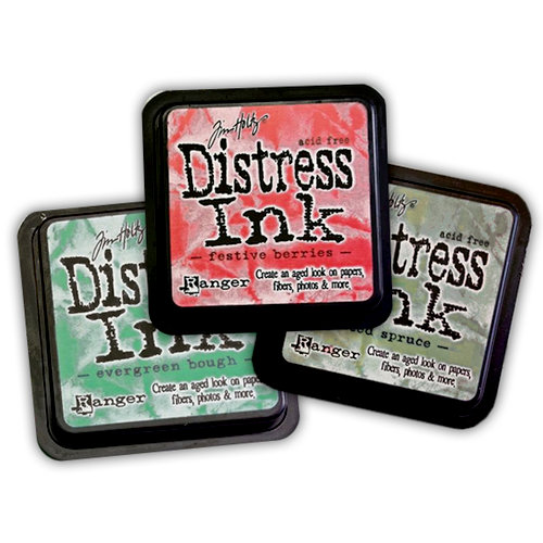 Ranger Ink - Tim Holtz - Distress Ink Pads - Winter - Limited Edition - 3 Pack