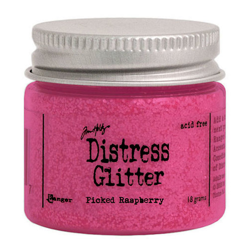 Ranger Ink - Tim Holtz - Distress Glitter - Picked Raspberry