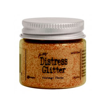 Ranger Ink - Tim Holtz - Distress Glitter - Vintage Photo