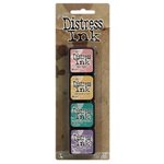 Ranger Ink - Tim Holtz - Distress Ink Pads - Mini Kit - Four