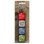 Ranger Ink - Tim Holtz - Distress Ink Pads - Mini Kit - Five