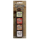 Ranger Ink - Tim Holtz - Distress Ink Pads - Mini Kit - Eleven