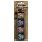 Ranger Ink - Tim Holtz - Distress Ink Pads - Mini Kit - Twelve
