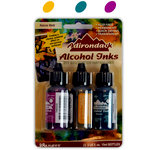 Ranger Ink - Tim Holtz - Adirondack Alcohol Inks - 3 Pack - Nature Walk