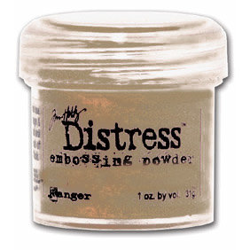 Ranger Ink - Tim Holtz - Distress Embossing Powder - Brushed Corduroy
