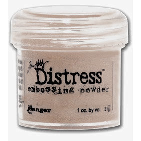 Ranger Ink - Tim Holtz - Distress Embossing Powder - Frayed Burlap