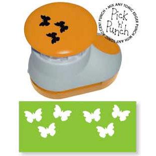 Tonic Studios - Pick N Punch - Paper Punch - Accent - Butterflies