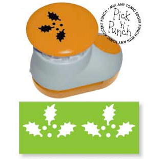 Tonic Studios - Pick N Punch - Paper Punch - Accent - Holly